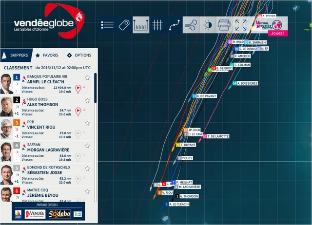 2016-2017 Vendee Globe [Archive] - Pressure Drop