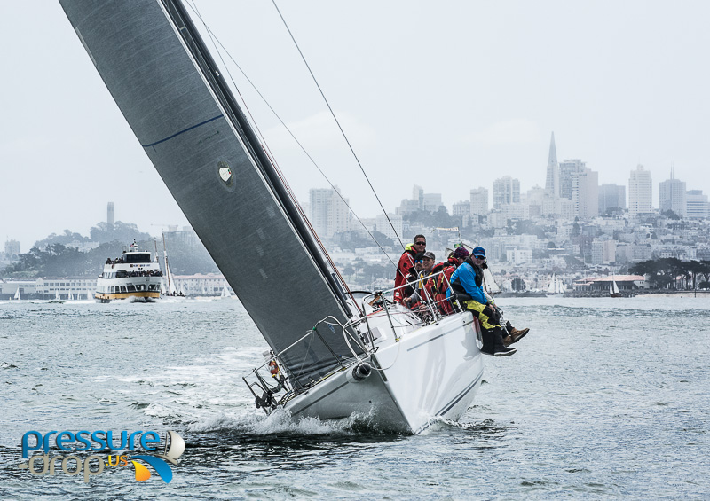 Pressure Drop - Alive Takes Spinnaker Cup Line Honors!