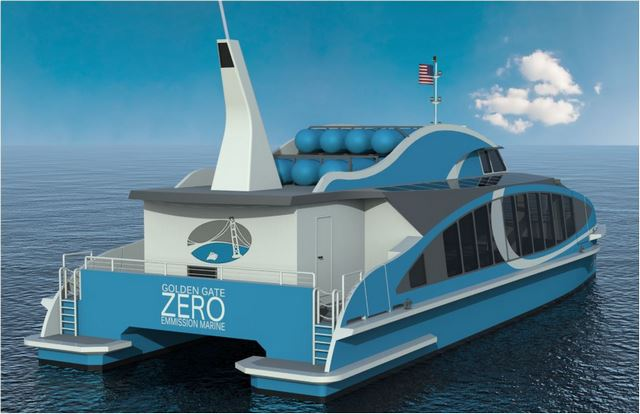 Pressure Drop - Hydrogen Power Ferries To Hit The Bay In 2019