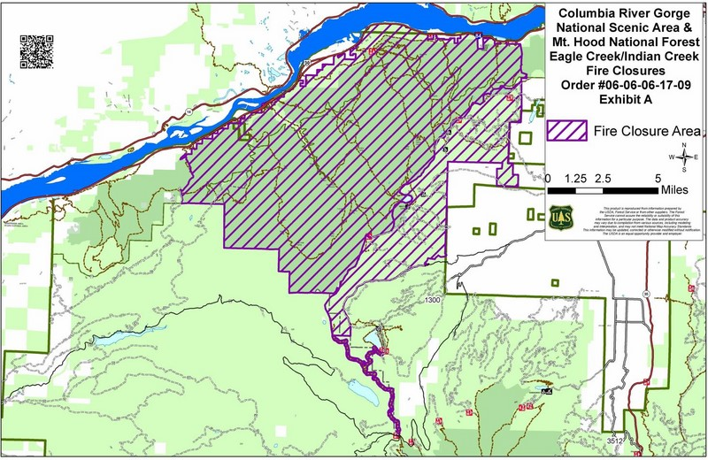 Cascade Locks Fire Map.I 84 Closed East Of Portland As Eagle Creek Fire Threatens Gorge